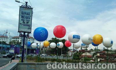 Balon Iklan 3 Dekat Jembatan Kewek