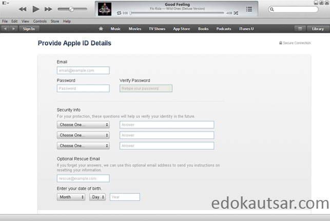Apple ID gratis