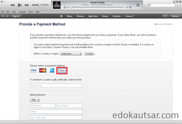 Apple id indonesia gratis