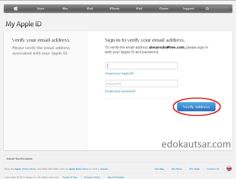 Cara Membuat Apple ID Gratis - MyTrick