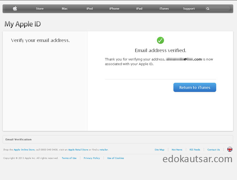 Daftar account itunes tanpa credit card