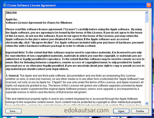 Cara install itunes di windows xp 7 8